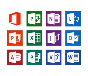 logiciels de la suite Office 365